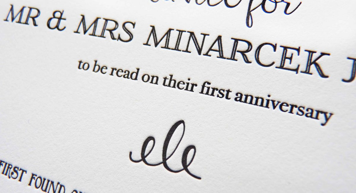 Wedding Advice Card, Letterpress Printed, Graphic Design, Hand-Lettering, Custom Design, Wedding Suite