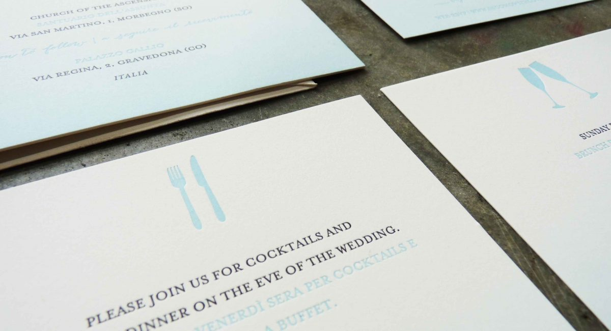Fade, Ombré, Letterpress Printed, Wedding Invitations, Wedding Suite, Wedding Invitations, Invitations, RSVP, Bilingual Wedding Invitations, Graphic Design , Custom Design
