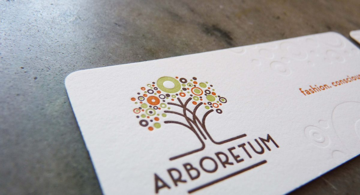 Letterpress Printing, Die Cut, Multi-Color, Tight Registration, Business Cards, Blind Deboss