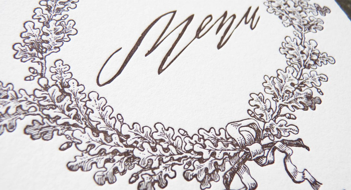 Wedding Invitations, Letterpress Printed, Handlettered, Monochromatic, Wedding Suite, Custom Design, Bicycle, Invitations, Wedding Stationery