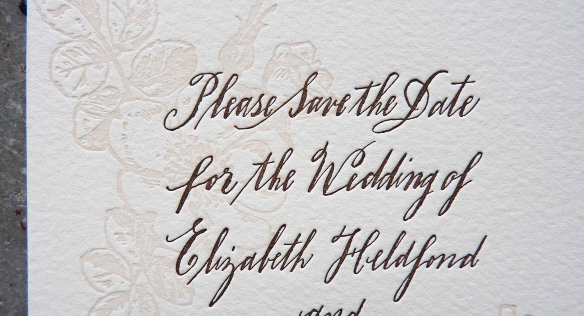 Letterpress Printed, Wedding Invitations, Letterpress Printed, Wedding Suite, Custom Design, Invitations, Wedding Stationery, Handlettered, Calligraphy, Save the Date