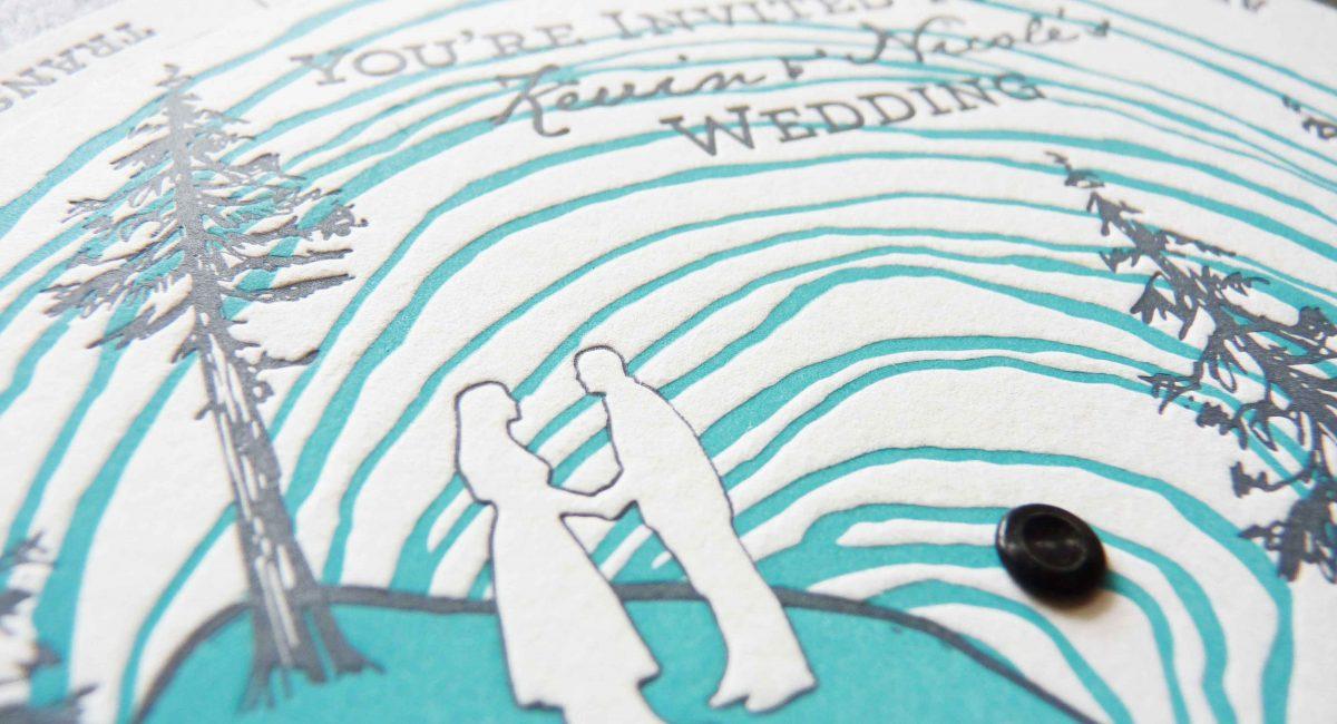 Letterpress Printed, Wedding Invitations, Letterpress Printed, Wedding Suite, Custom Design, Invitations, Wedding Stationery