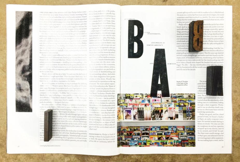 California Sunday + Dependable Letterpress, Thrashed