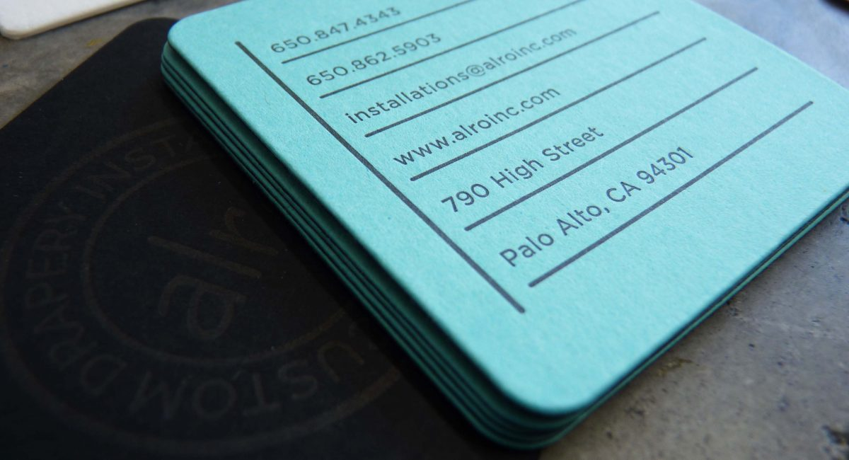 Die Cutting, Letterpress Printing, Graphic Design, Business Cards