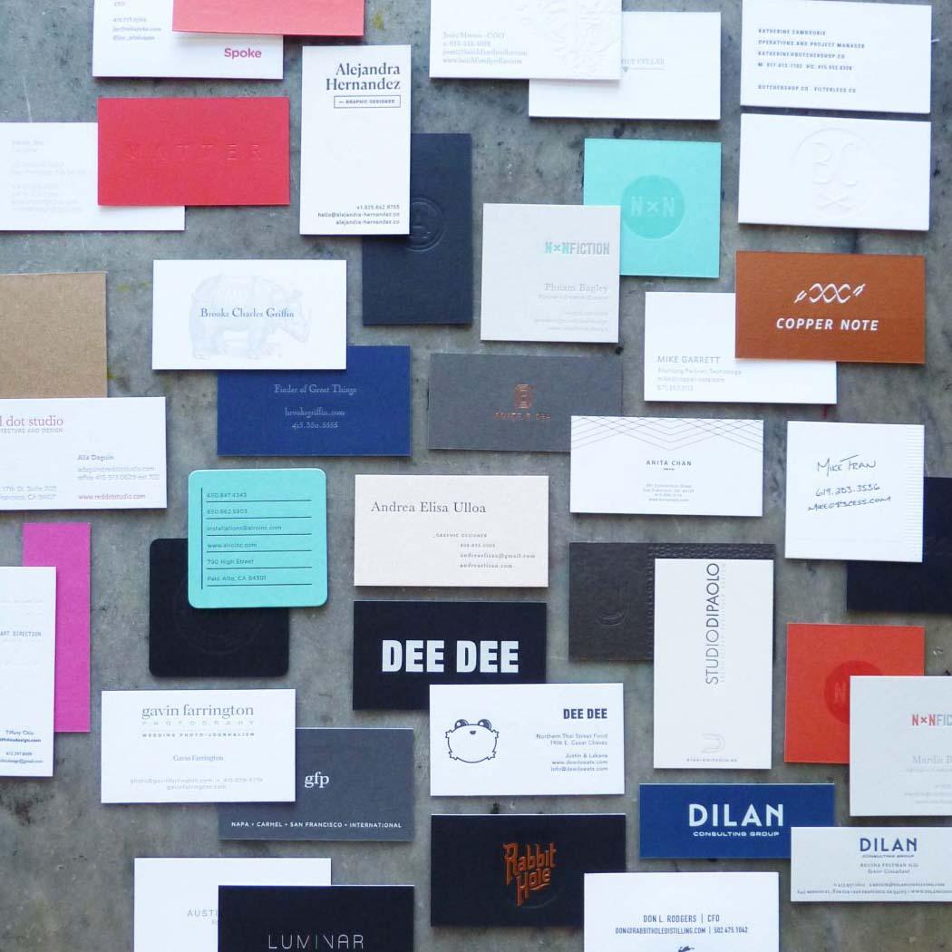 Duplexed Business Cards   Paper Story - Dependable Letterpress