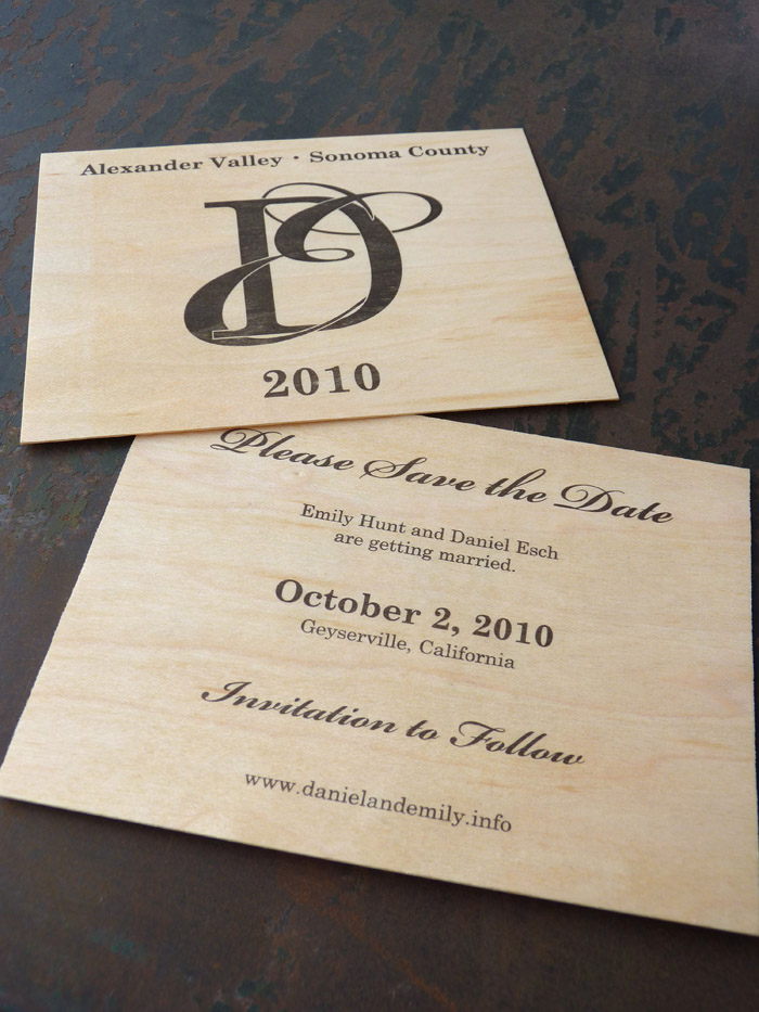 Esch & Hunt Save the Date | Weddings & Events