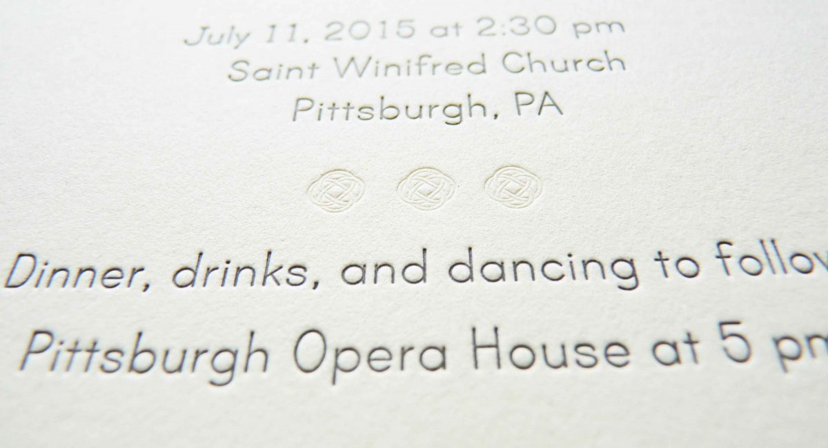 Wedding Invitations, Letterpress Printed, Textured Paper, Wedding Suite, Custom Design, Invitations, Wedding Stationery, Henna, Blind Deboss