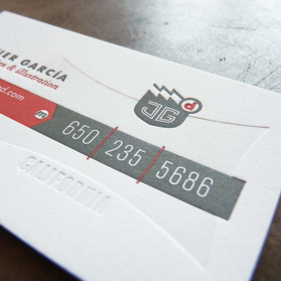 Javier Garcia Business Cards | Paper Story