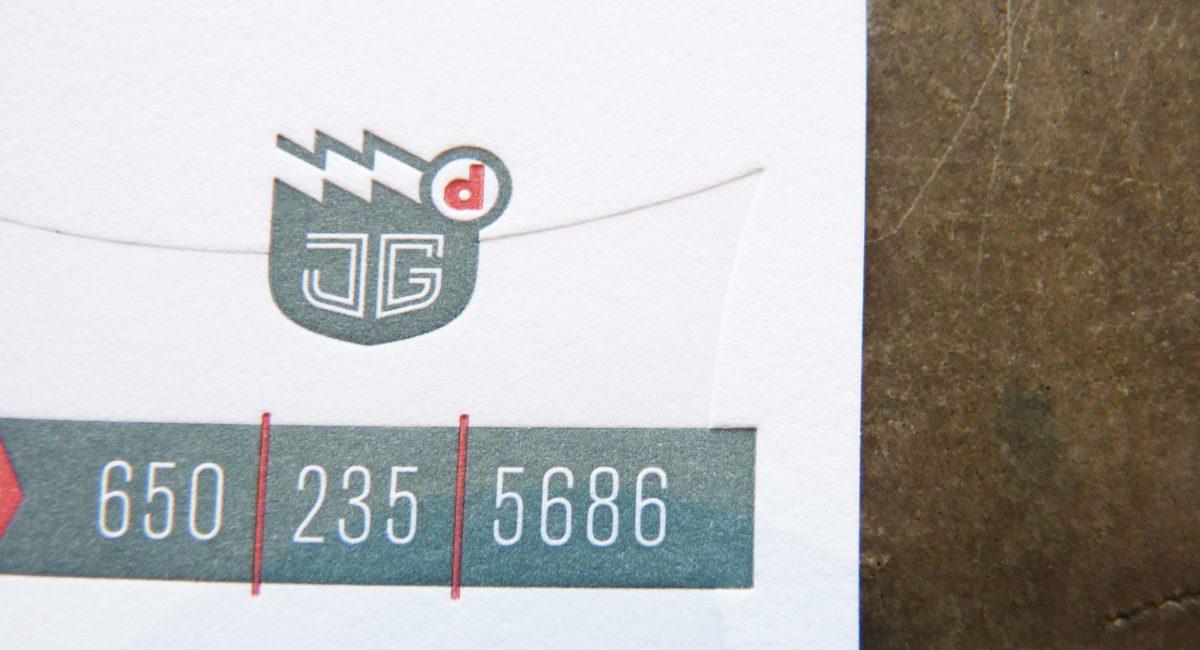 Blind Deboss, Letterpress Printed, Duplex, Painted Edges, Business Cards, Graphic Design, Custom Design, Tint