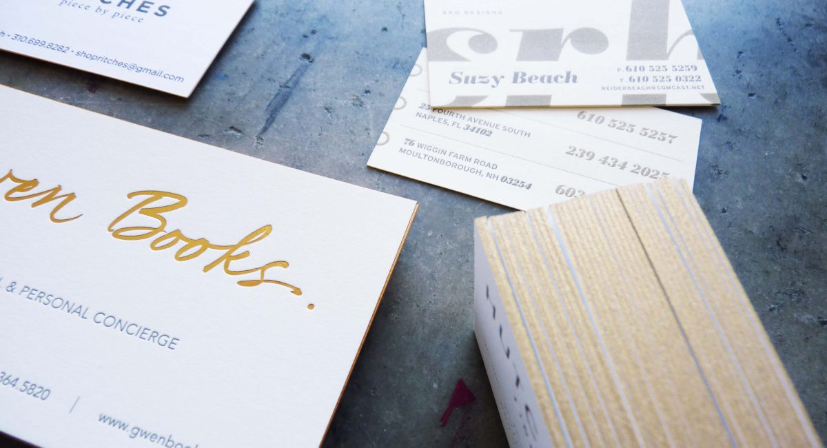 Business Cards with Metallic Inks | Paper Story - Dependable ...