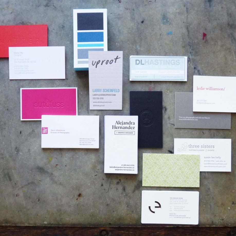 Multi-Process Business Cards | Paper Story