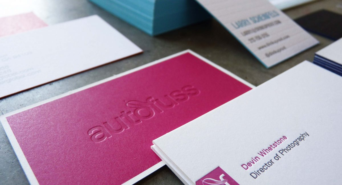 Blind Deboss, Creative Business Card, Odd Size, Letterpress Printing, Tint, Duplex, Square Business Card, Custom Design, Graphic Design, Offset Printing, Edge Painting
