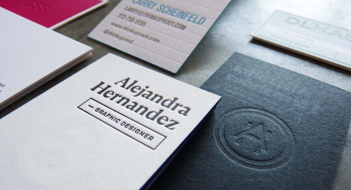 Multi-Process Business Cards | Paper Story - Dependable Letterpress