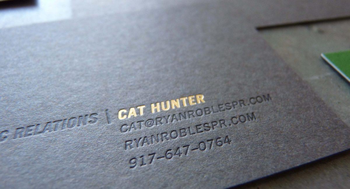 Unusual Paper, Letterpress Printed, Thick Paper,  Letterpress, Graphic Design, Custom Design, Black Paper, Gray Paper, Green Paper, Brown Paper, Foil Stamping