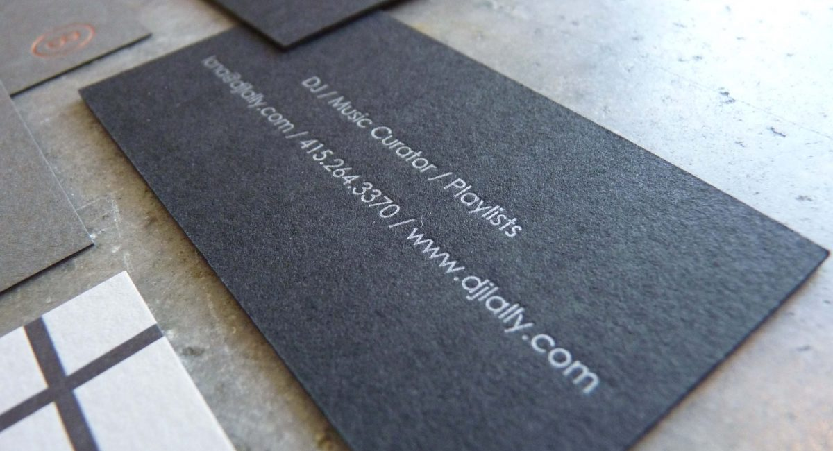 Unusual Paper, Letterpress Printed, Thick Paper,  Letterpress, Graphic Design, Custom Design, Black Paper, Gray Paper, Green Paper, Brown Paper, Foil Stamping