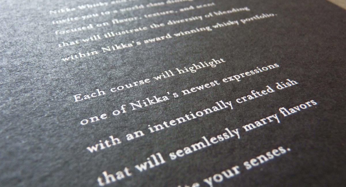 Black Paper, White Ink, Gold Ink, White Foil Stamping, Gold Foil Stamping, Foil Stamping, Foil Printing, Custom Design, Graphic Design, Unusual Paper, Black Paper, Event Invitation