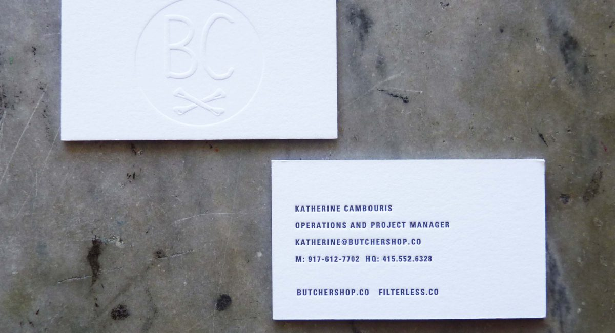 Blind Deboss, Thick Paper, Letterpress Printed, Graphic Design, Custom Design, Business Cards