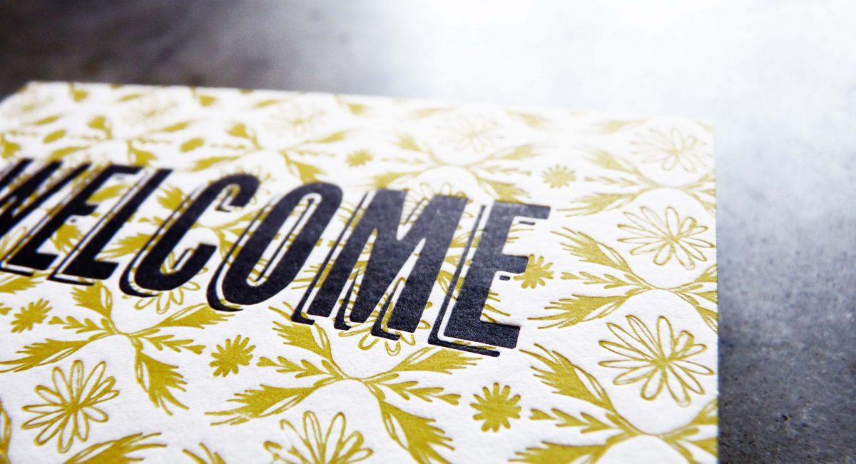 Patterns, Letterpress Printed, Offset Printed, Business Cards, Graphic Design, Custom Design, Business Cards