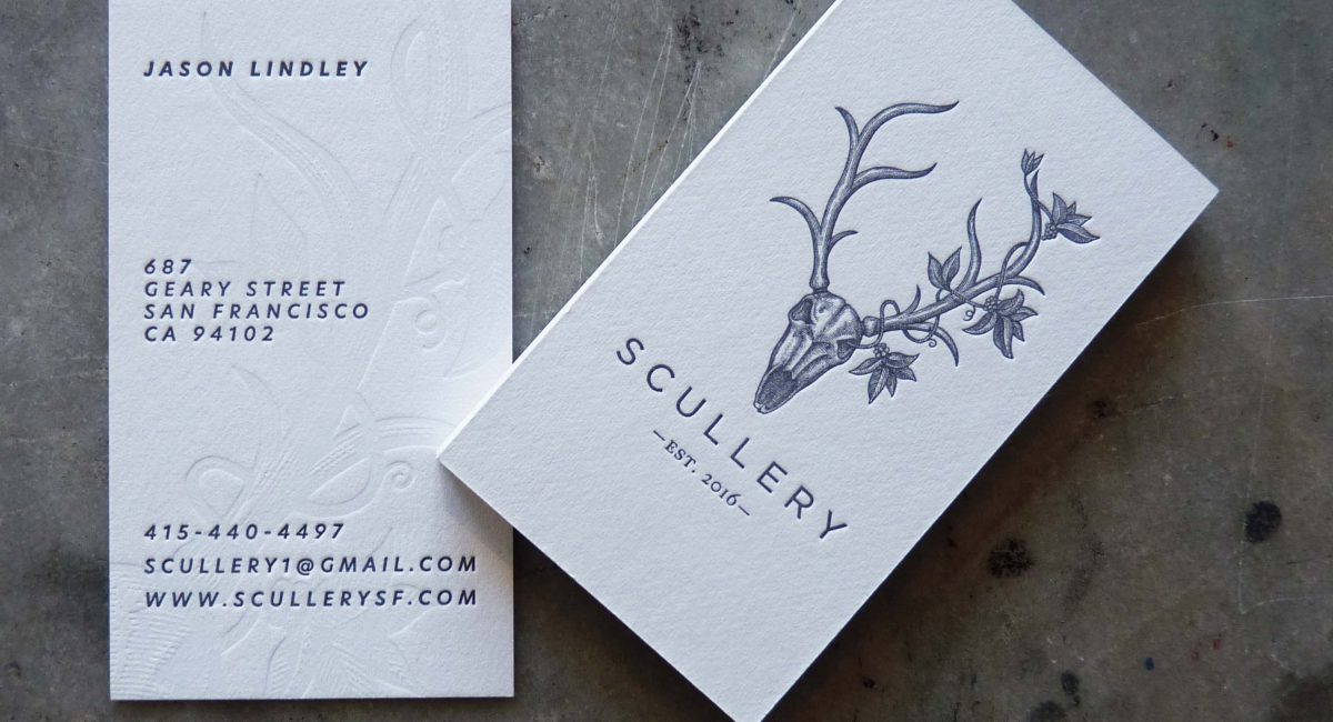 Tint, Blind Deboss, Unusual Paper, Letterpress Printed, Business Card, Graphic Design, Custom Design