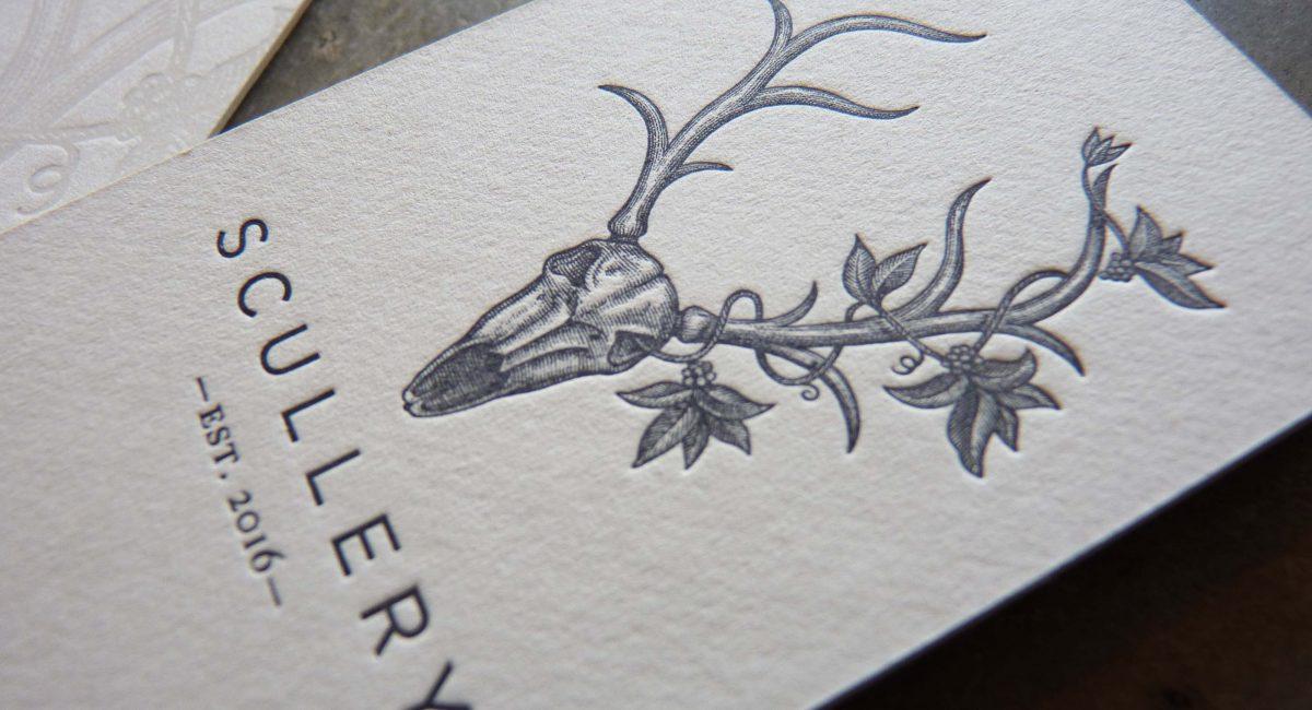 Tint, Blind Deboss, Unusual Paper, Letterpress Printed, Business Card, Graphic Design, Custom Design