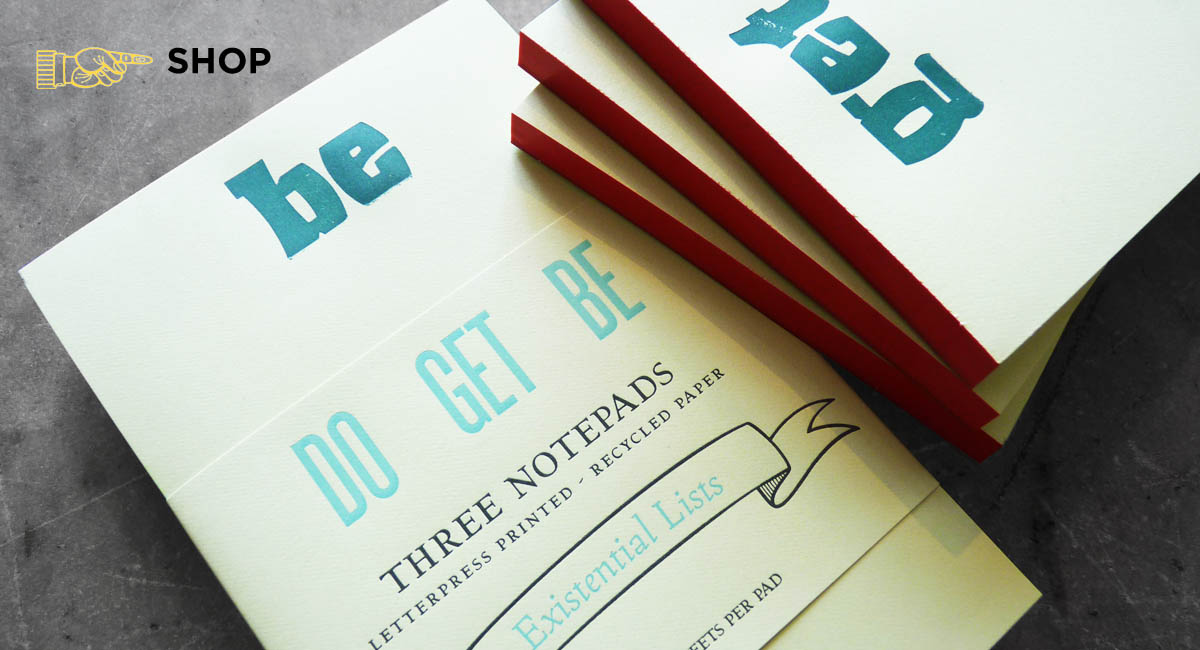 Letterpress Printed Paper Goods, Custom Design, Letterpress Shop, Locally Made