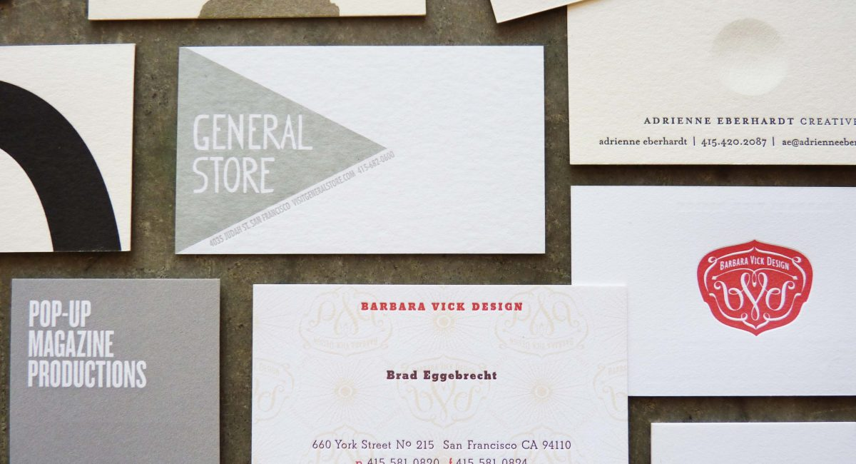 Solids, Letterpress Printed, Business Cards, Graphic Design, Custom Design, Unusual Paper