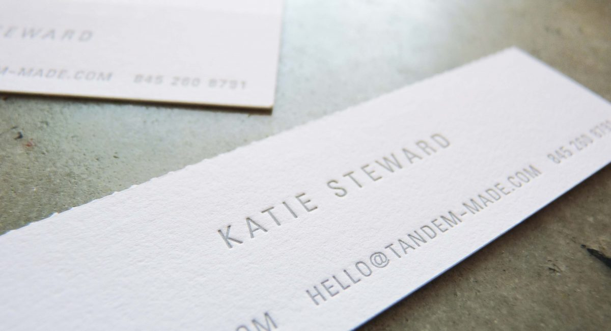 Perforated, Perforation, Perforated Business Card, Tint, Blind Deboss, Letterpress Printed, Graphic Design, Custom Design