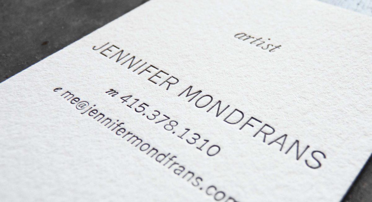 Unusual Paper, Letterpress Printed, Business Cards, Graphic Design, Custom Design