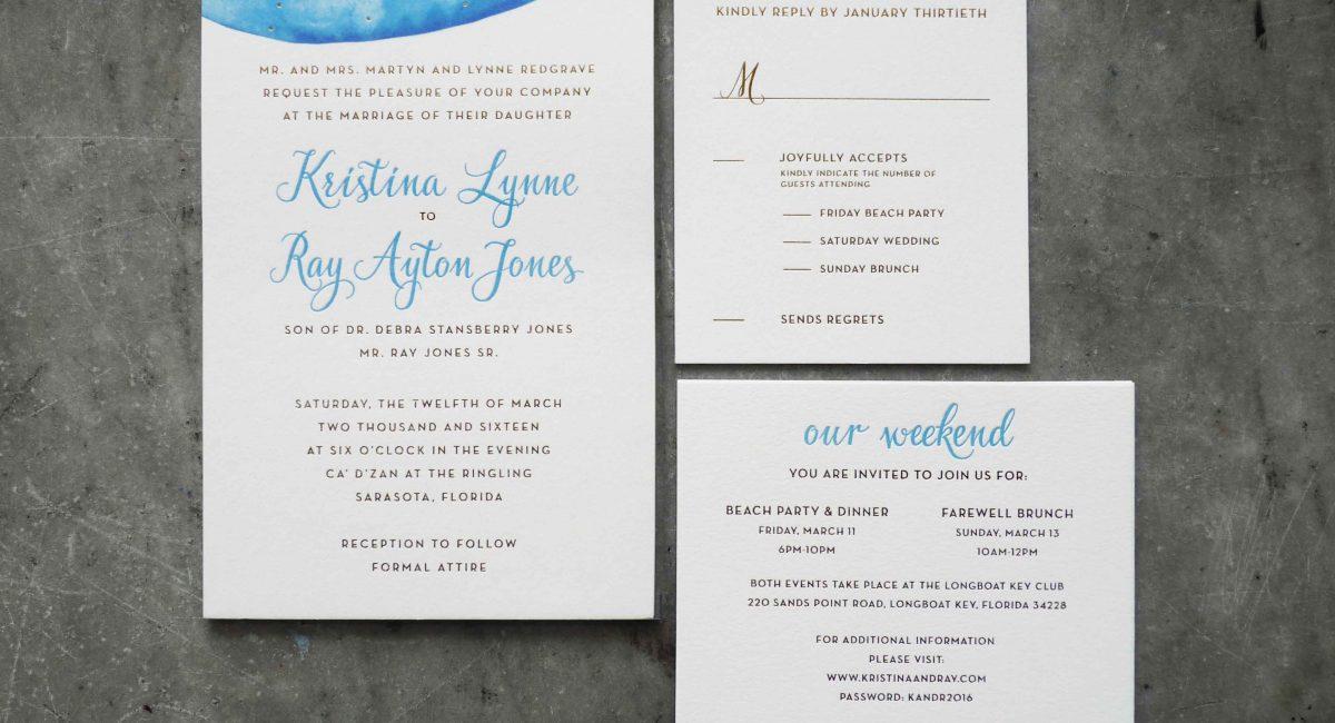 Wedding Invitations, Foil Stamped, Gold Foil, Wedding Suite, Custom Design, Invitations, Wedding Stationery, Letterpress Printed, Digital Printing