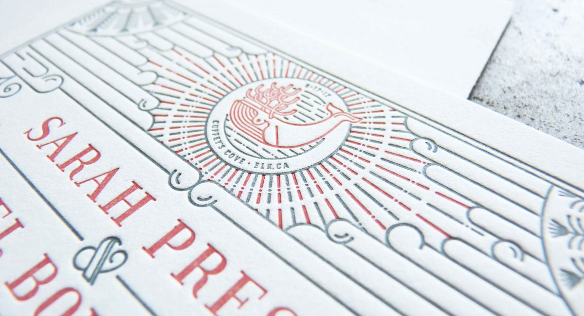 Wedding Invitations, Letterpress Printed, Wedding Suite, Custom Design, Invitations, Wedding Stationery, Nautical